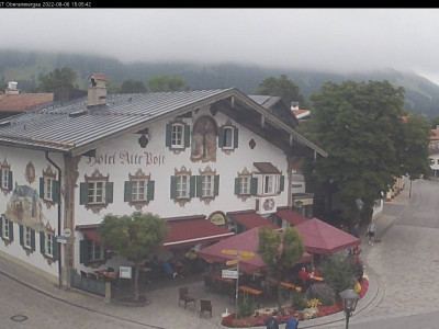 Webcam Alte Post / Bikepark Oberammergau