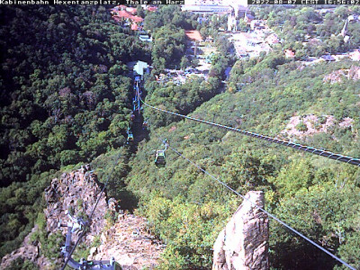 Webcam Gondelbahn Downhill Rosstrappe